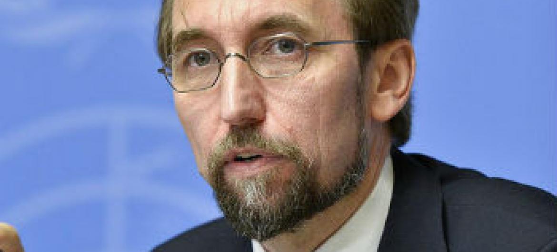 Zeid Al Hussein. Foto: ONU/Jean-Marc Ferré