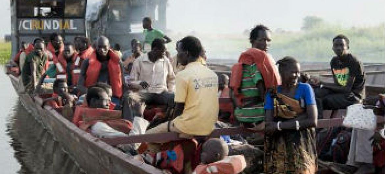 Refugiados sul-sudaneses procuram abrigo na Etiópia. Foto: Acnur/C.Tijerna