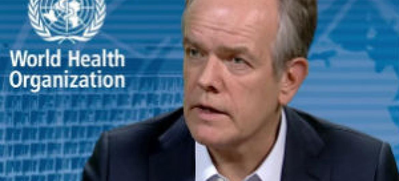Etienne Krug. Foto: Reprodução vídeo OMS
