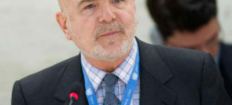 Michel Forst. Foto: ONU/Jean-Marc Ferré