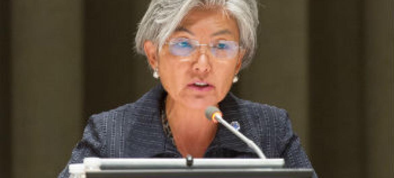 Kyung-wha Kang. Foto: ONU/Mark Garten