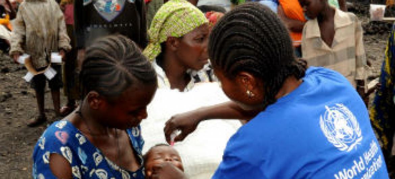População deslocada na RD Congo. Foto: Ocha