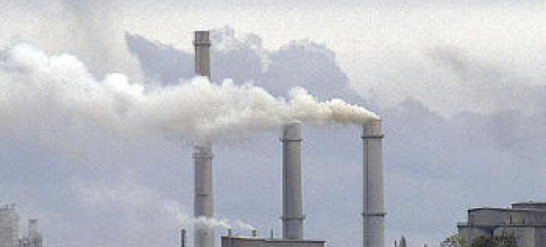 Poluição do ar. Foto ONU.