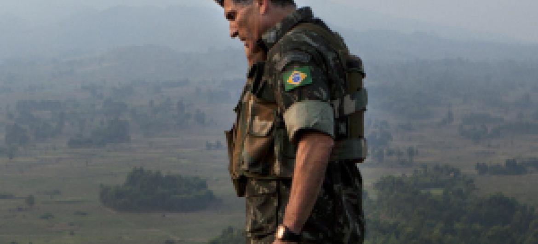 General Carlos Alberto Dos Santos Cruz. Foto: ONU/Sylvain Liechti