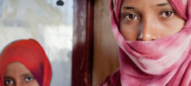 Crianças deslocadas no Yêmen. Foto: Acnur/P. Rubio Larrauri