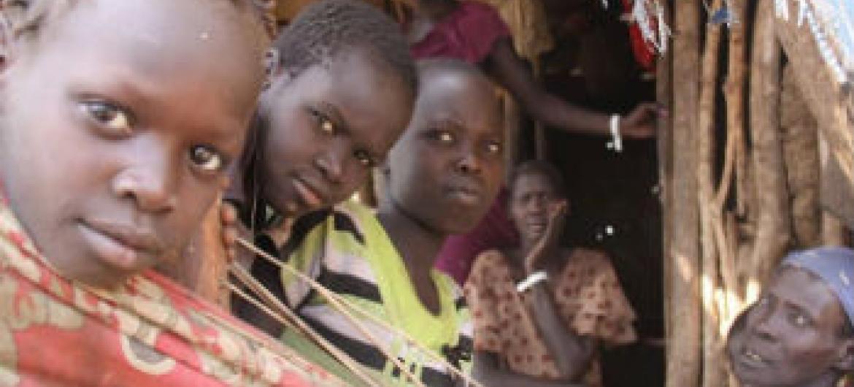 Refugiados sul-sudaneses. Foto: Irin/Binyam Tamene