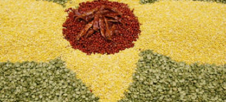 Aumento de stocks de cereais.