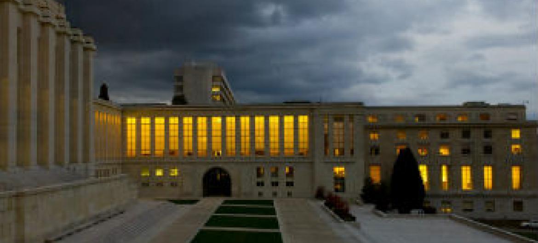 Sede da ONU em Genebra. Foto: ONU/Violaine Martin