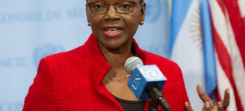 Valerie Amos. Foto: ONU/Yubi Hoffmann