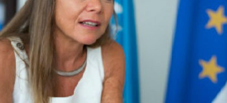 Ulrika Richardson. Foto: ONU/Cabo Verde