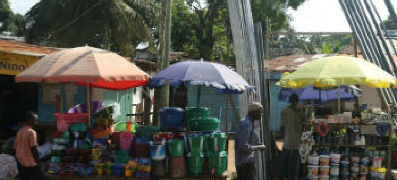 Libéria é um dos países mais afetados pelo surto. Foto: Banco Mundial/Dominic Chavez
