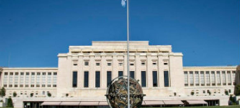 Escritório das Nações Unidas em Genebra. Foto: ONU/Jean-Marc Ferré