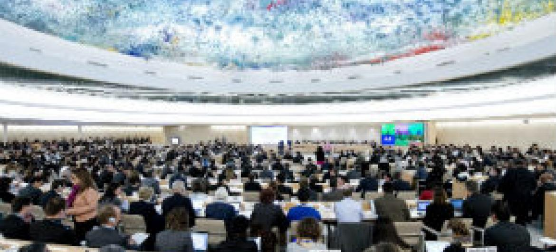 Conselho de Direitos Humanos. Foto: ONU/Jean-Marc Ferré