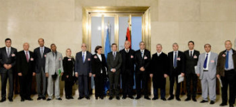 Diálogo de dois dias em Genebra. Foto: ONU/Jean-Marc Ferré