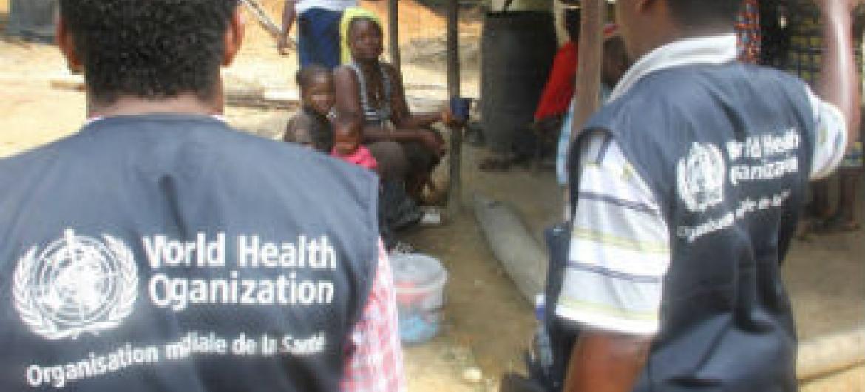 O ebola continua a ser uma grave ameaça. Foto: ONU/R. Sørensen