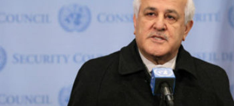Riyad Mansour. Foto: ONU/Devra Berkowitz
