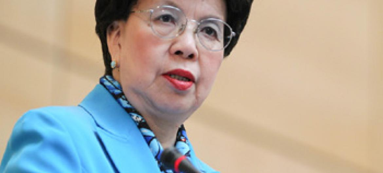 Diretora-geral da Organização Mundial da Saúde, Margaret Chan. Foto OMS