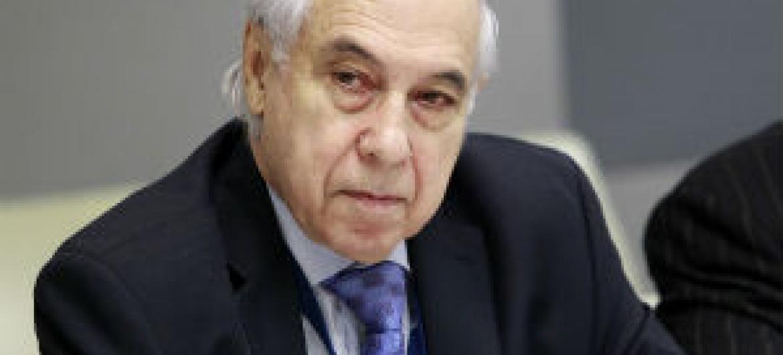 Sergio Duarte. Foto: ONU/Rick Bajornas