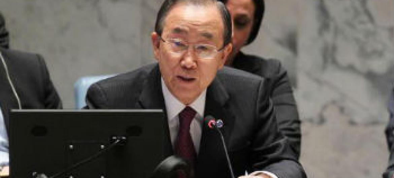 Ban Ki-moon. Foto: ONU/Devra