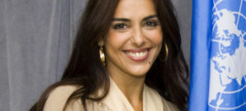 Catarina Furtado. Foto: ONU/Mark Garten