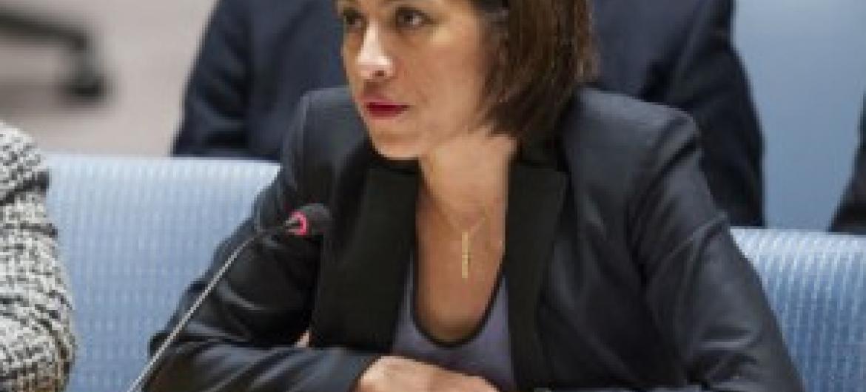 A embaixadora do Timor-Leste Sofia Borges, que falou em nome da Cplp. Foto: ONU/Loey Felipe