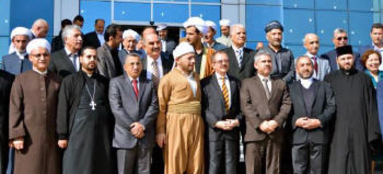Celebração da Semana Inter-Religiosa no Iraque. Foto: Unami
