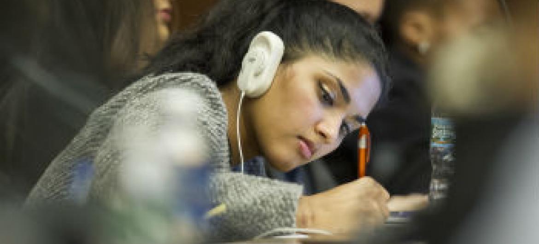 Mundo tem a maior geração de jovens da história. Foto: ONU/Loey Felipe