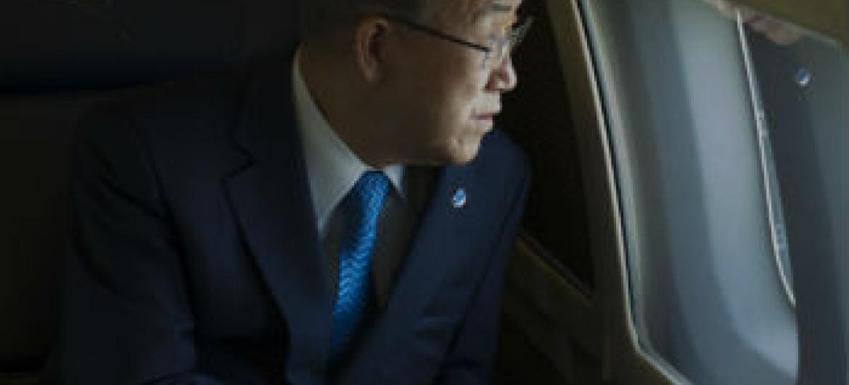 Ban Ki-moon viaja esta sexta-feira para o Kuwait. Foto: ONU/Eskinder Debebe