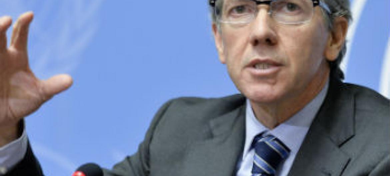 Bernardino León. Foto: ONU/Jean-Marc Ferre