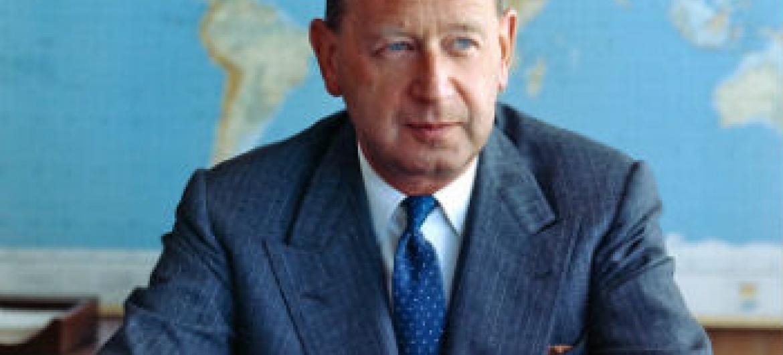 Dag Hammarskjöld. Foto: Arquivo ONU