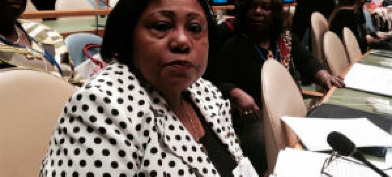 Filomena Delgado. Foto: Rádio ONU