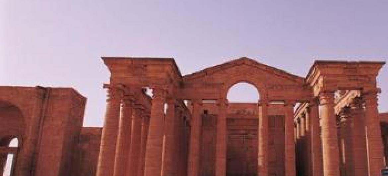 Hatra foi fundada há mais de 2 mil anos. Foto: Unesco.