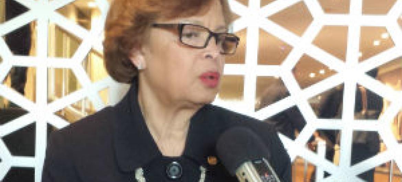 Sandra Honoré. Foto: Rádio ONU