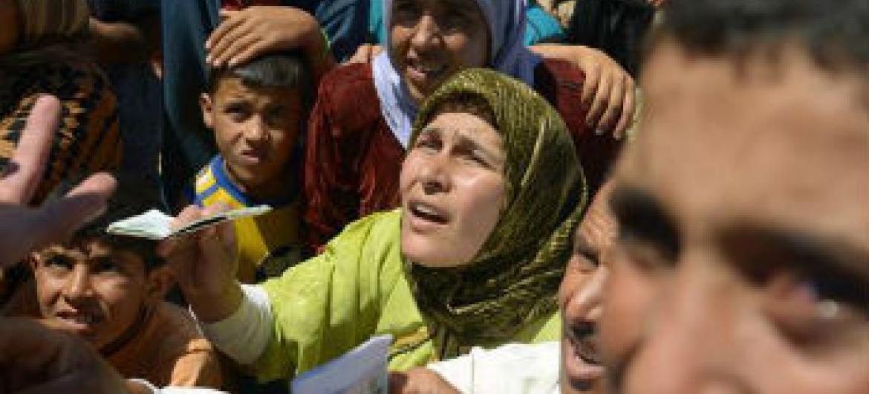 Mais de 4 milhões de pessoas buscaram refúgio em países vizinhos. Foto: Unicef