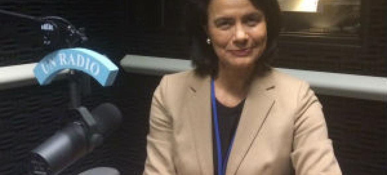 Teresa Morais. Foto: Rádio ONU
