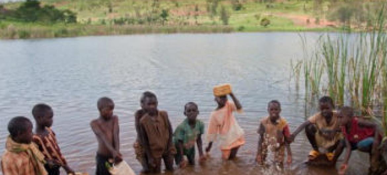 Afetadas por eventos climáticos. Foto: Pnud Ruanda