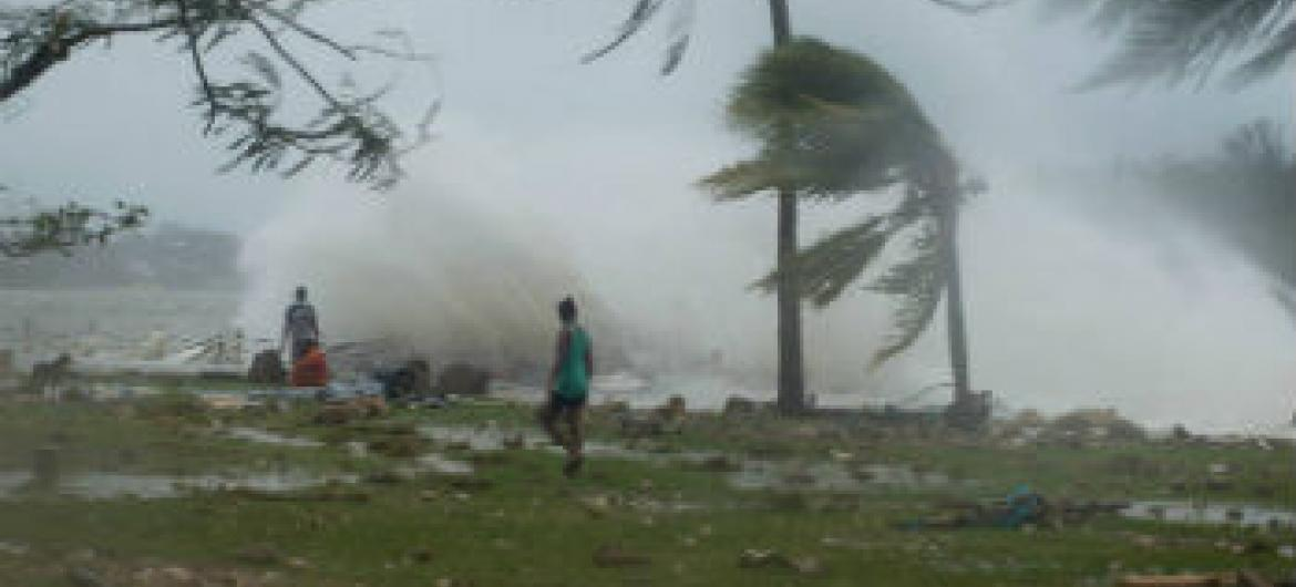 Ciclone tropical Pam. Foto: Unicef Pacífico
