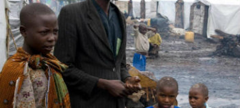 Comunidades são afetadas por desastres naturais. Foto: OMS/C. Black