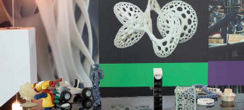 Objetos em 3D. Foto: Ompi/Emmanuel Berrod