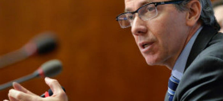 Bernardino Léon. Foto: ONU/Jean-Marc Ferré