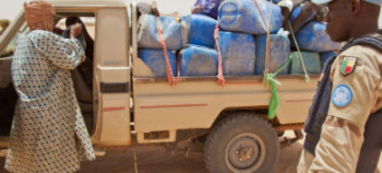 Ponto de inspeção em Kidal, no Mali. Foto: Minusma/Blagoje Grujic