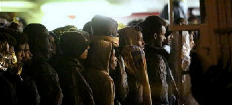 Migrantes refugiados e candidatos a asilo. Foto: Acnur