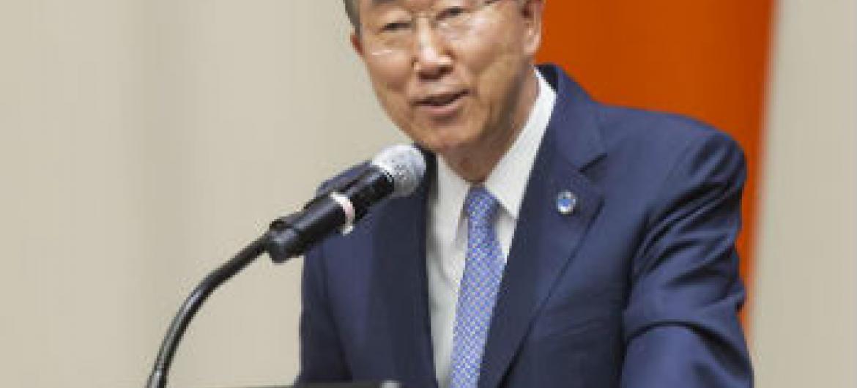 Ban Ki-moon. Foto: ONU/Mark Garten