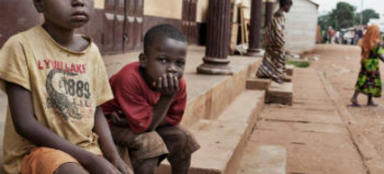 Crianças centro-africanas. Foto: Acnur/A. Greco