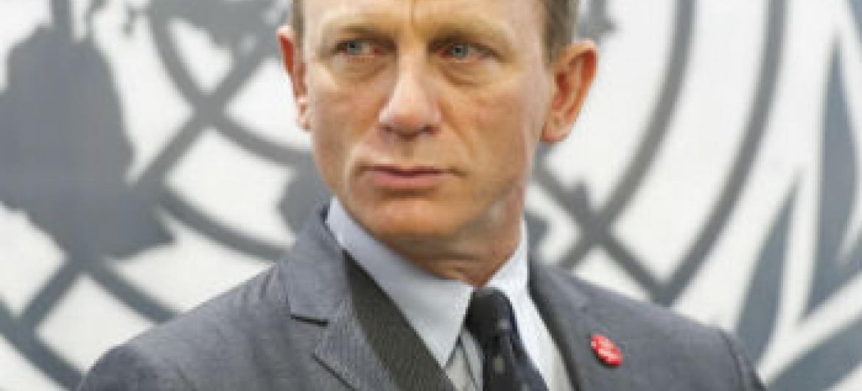 Daniel Craig. Foto: ONU/Mark Garten