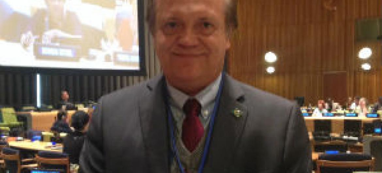 Luiz Alberto dos Santos. Foto: Rádio ONU