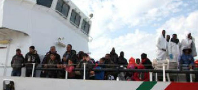 Este ano pode ser o mais mortífero de que se há registo para os migrantes no mar Mediterrâneo. Foto: OIM