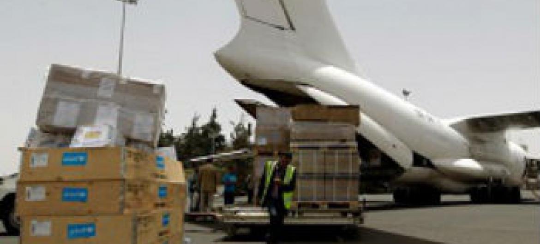 Unicef conseguiu entregar suprimentos médicos na região sul do Iêmen. Foto: Unicef/NYHQ2015-0800/Mohammed