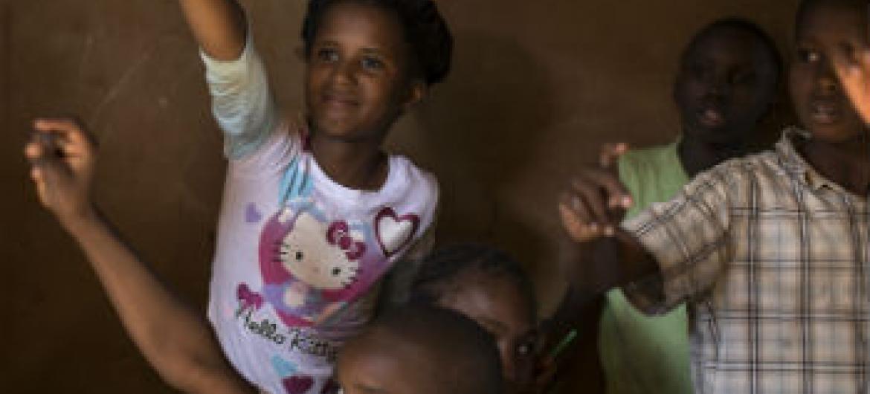 Recenseamento foi levado a cabo pelo governo e o Unicef.Foto: ONU/Marco Dormino
