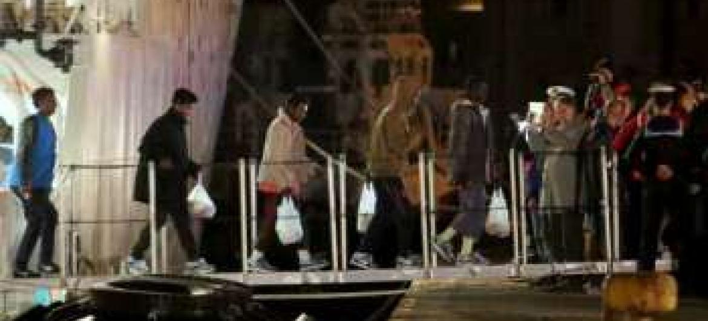 Soreviventes disseram que navio tinha crianças. Acnur/F.Malavolta.